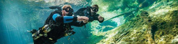 Padi Sidemount-Diver